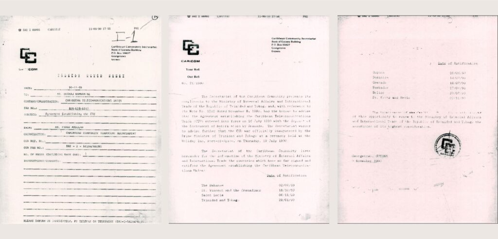 Agreement establishing the CTU